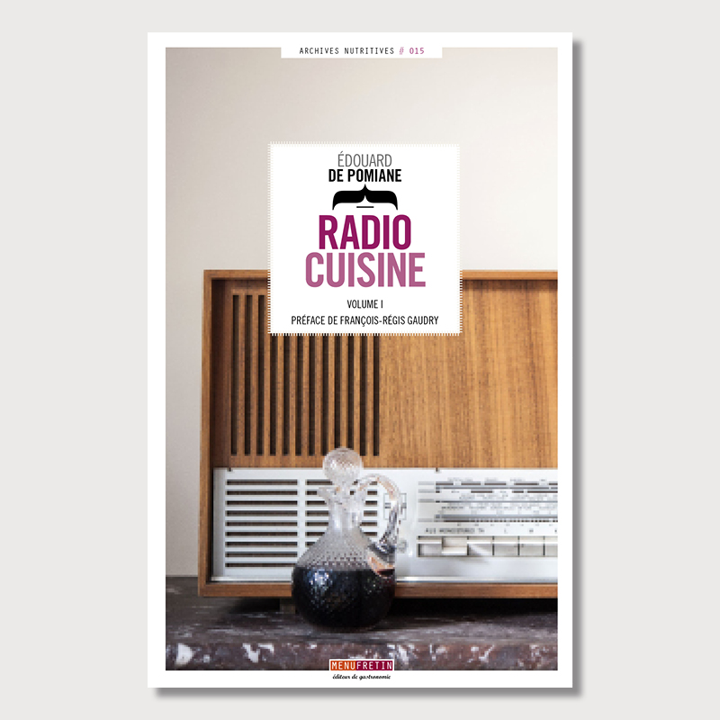 radio cuisine coffret de 2 volumes menu fretin. Black Bedroom Furniture Sets. Home Design Ideas
