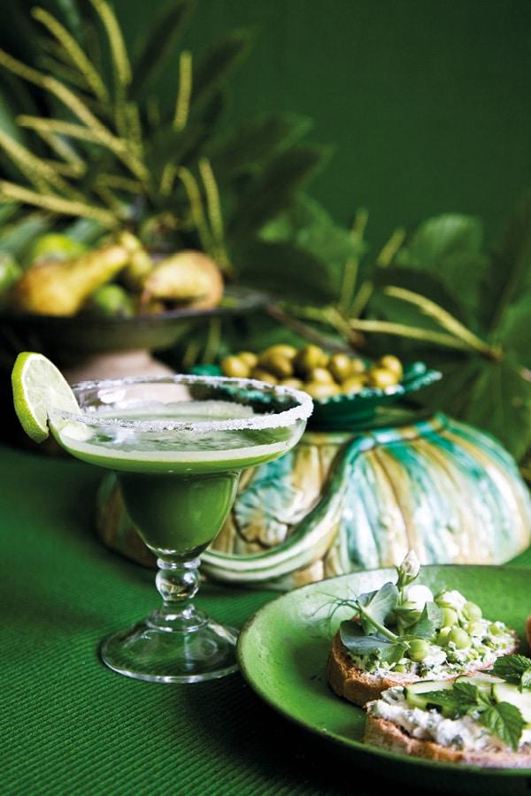 gin vert citron concombre