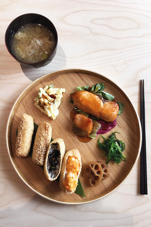 oinari sushi tofu japonais Paris