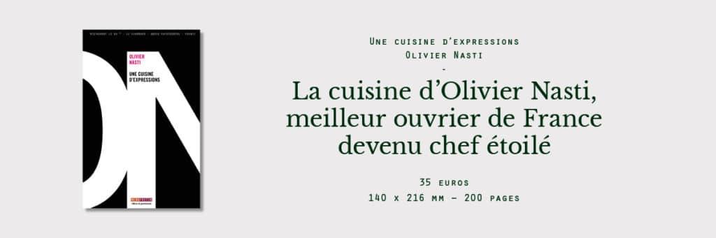 livre olivier nasti cuisine d'expressions