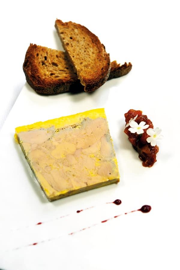 foie gras recette grand monarque