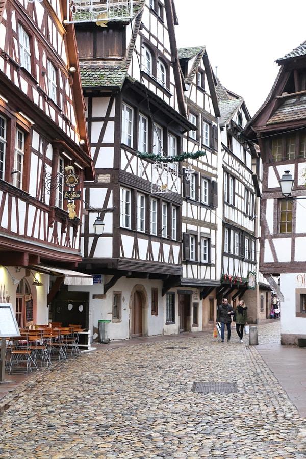 strasbourg architecture colombages centre ville
