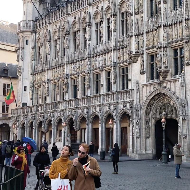 bruxelles voyage gastronomique city guide grand place