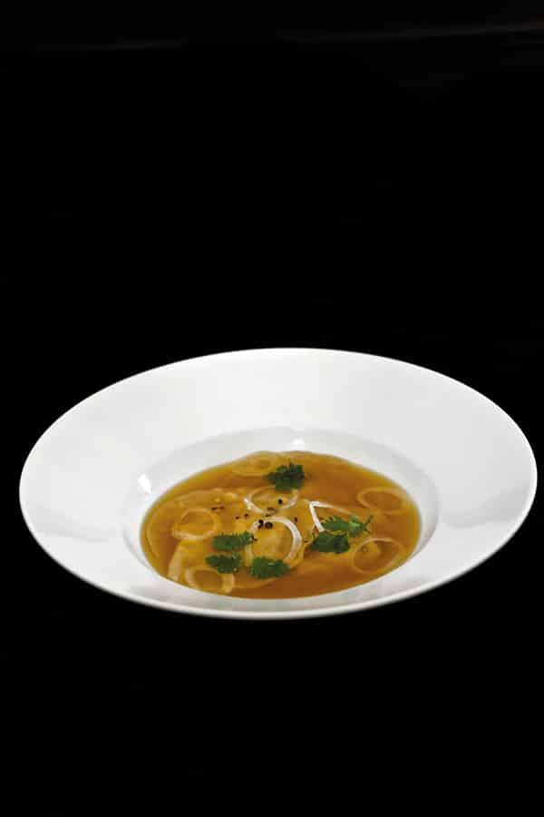 soupe bière raviolis recette