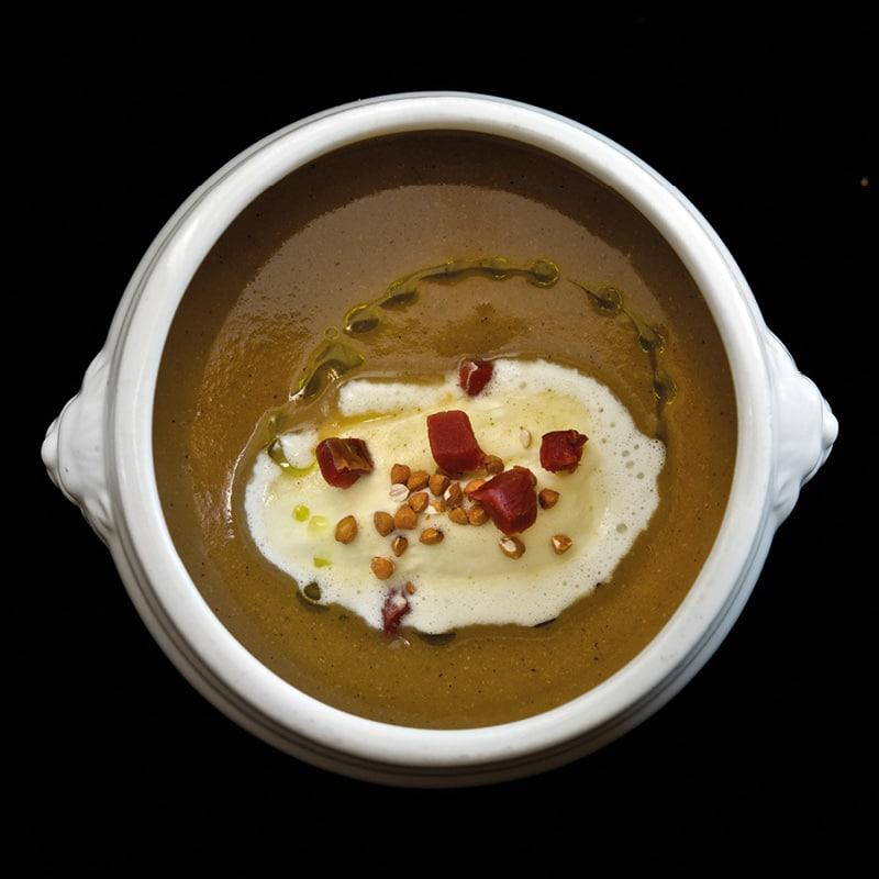soupe sarrasin lard