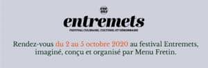 festival entremets 2020