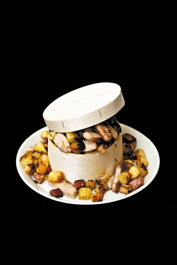 mont d'or poulet trochain recette