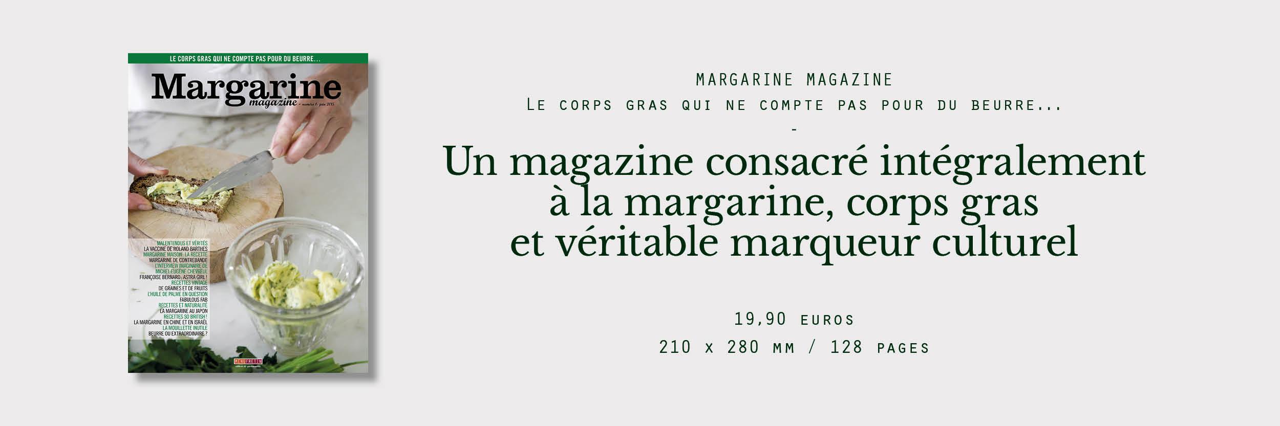 margarine magazine