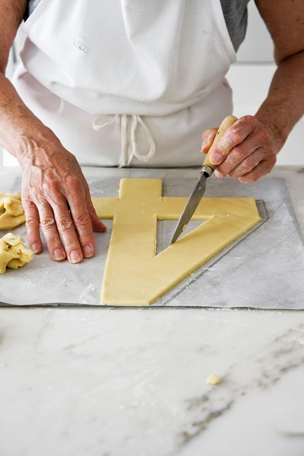 number cake pâte