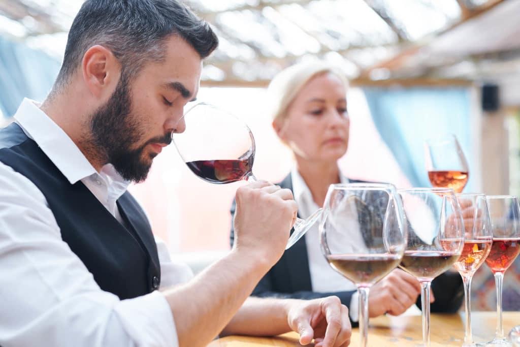 vin dégustation