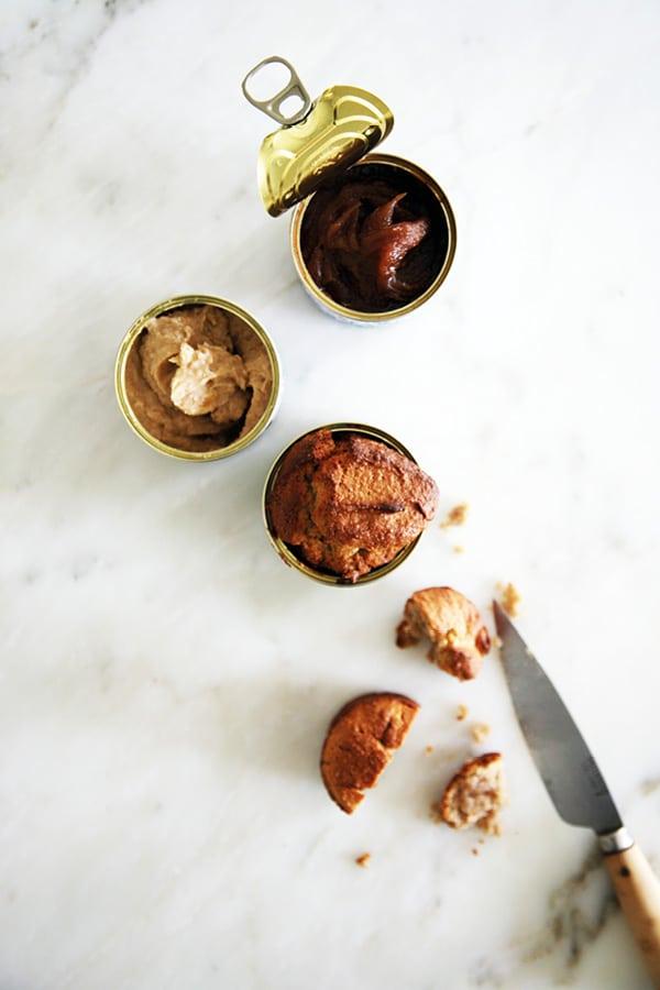 muffins crème marron